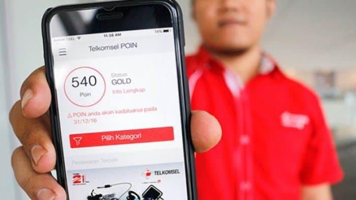Tampilan Telkomsel POIN di ios