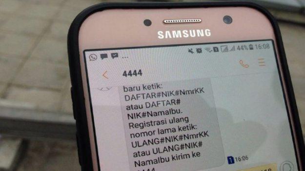 Cara Registrasi Kartu Indosat Via SMS