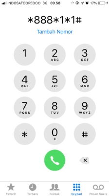 Cara Cek Nomor Indosat Via USSD