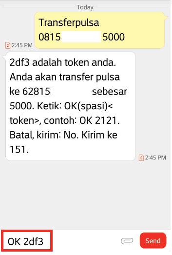 Cara Transfer Pulsa Indosat IM3