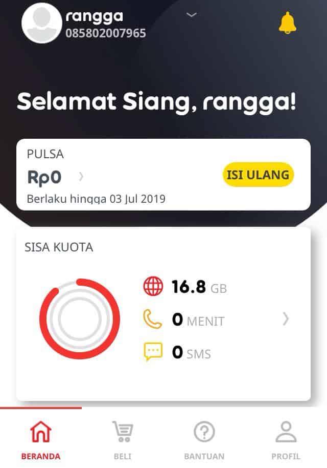 Cara Cek Pulsa Indosat Via Aplikasi MyIM3
