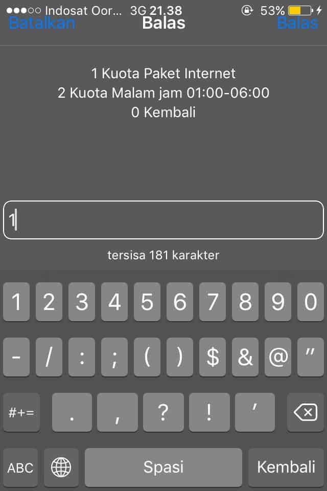 Cara Cek Kuota Internet Indosat Via Dial Phone