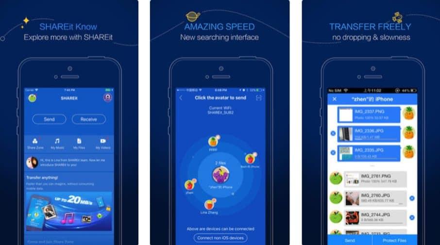 Cara mengirim aplikasi lewat Share It