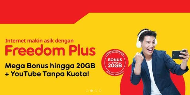 Paket Indosat Freedom Internet Plus
