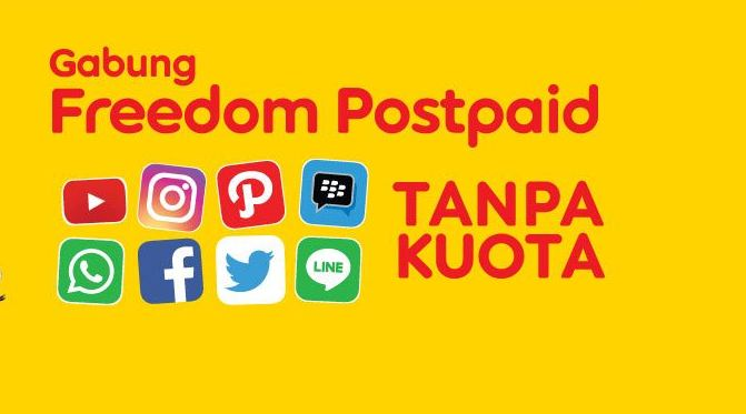 Paket Internet Freedom Postpaid Indosat