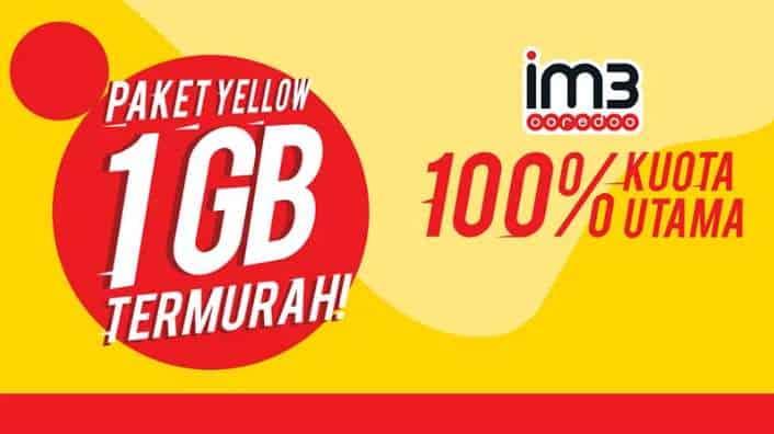 Paket Internet Indosat Yellow