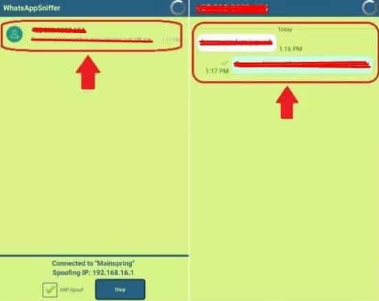Berikan akses busybox pada saat menyadap whatsapp
