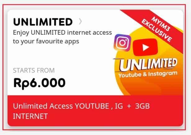 Langkah Cara Daftar Paket Boster Indosat Via Aplikasi MyIM3