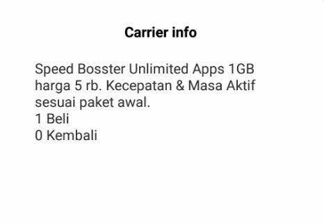 Langkah Cara Daftar Paket Boster Indosat Via Dial Up