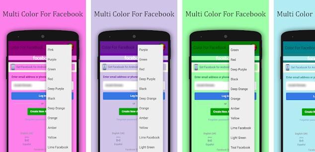Aplikasi Multi Color For Facebook