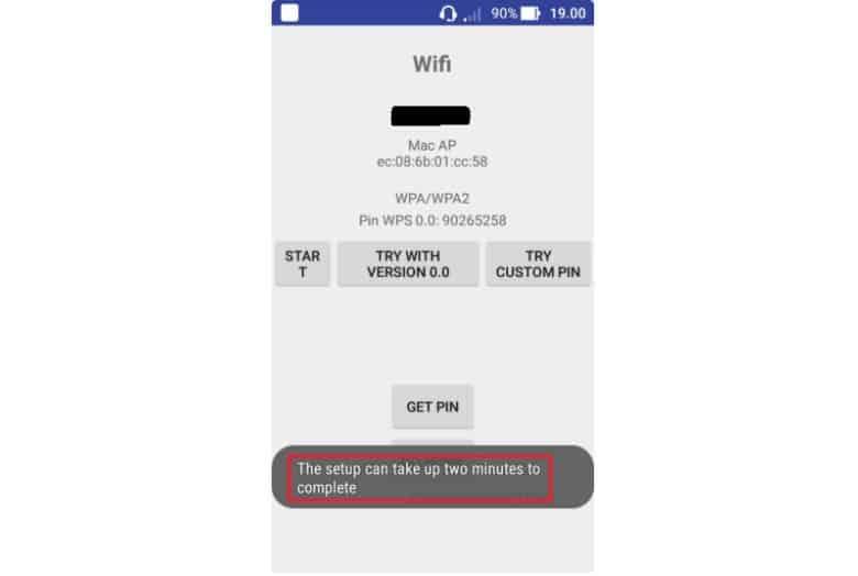 Cara ke-3 Via Aplikasi WiFi Test