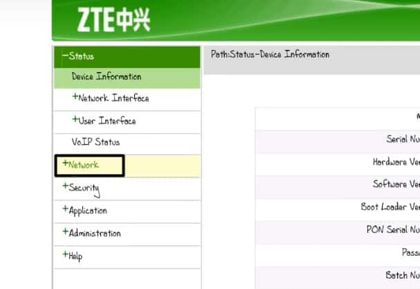 Cara ke-4 ganti Password Modem Speedy ZTE Indihome
