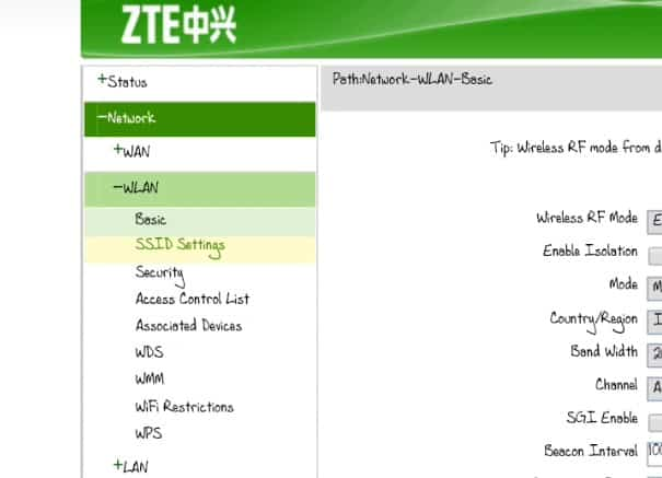 Cara ke-7 ganti Password Modem Speedy ZTE Indihome
