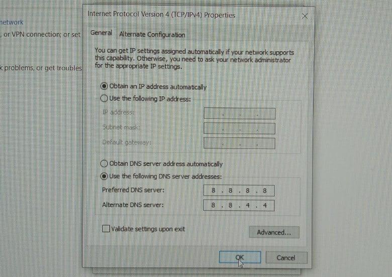 Cara ke-6 Setting DNS Indihome