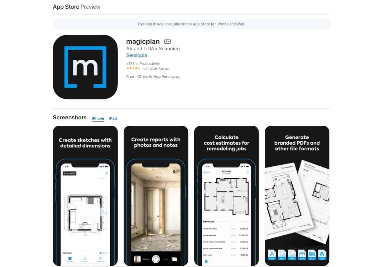 Aplikasi Magicplan